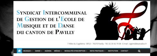 site ecole de musique danse pavilly barentin
